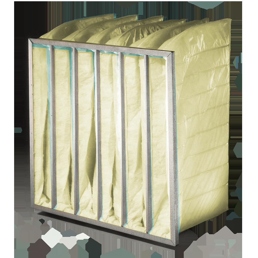 Oil Mist fiberglass Pocket filter